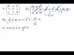 Discusión del rango de una matriz