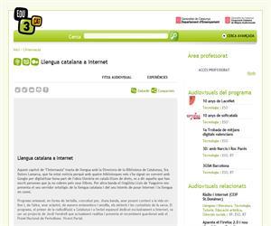 Llengua catalana a Internet (Edu3.cat)