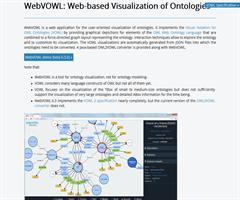 WebVOWL. Visualización Web de Ontologías