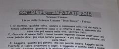 Los originales deberes que un profesor italiano ha mandado a sus alumnos este verano (huffingtonpost.es)