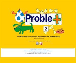 Proble+. Lectura comprensiva de problemas de matemáticas