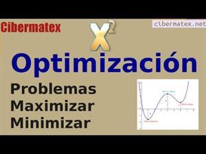Optimización. Problemas maximizar-minimizar funciones. Cibermatex