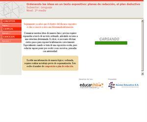 Ordenando las ideas en un texto expositivo: planes de redacción (Educarchile)