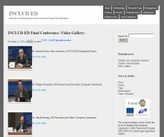 Includ-Ed Final Conference | Video Gallery
