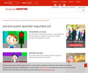 Jota Jota quiere aprender Seguridad Vial (Fundación Mapfre)