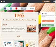 «MES.MAYO14. 9.2. Evaluaciones internacionales: compartiendo nuestro «flyer» de difusión».