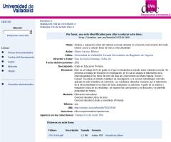 Análisis y evaluación crítica del material curricular utilizado en el área de Conocimiento del Medio Natural, Social y Cultural: libros de texto e interculturalidad