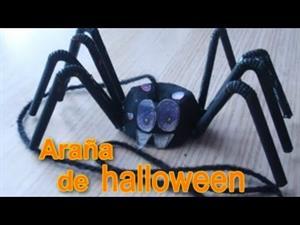 Araña de Halloween: manualidades para niños
