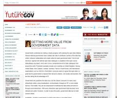 Getting more value from Government Data (FutureGov)