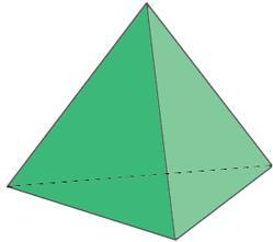 ¿Cómo se llama un poliedro de 7 aristas?