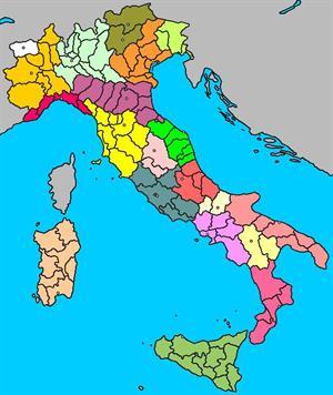 Mapa interactivo de Italia: regiones, provincias y capitales (luventicus.org)