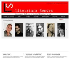 Literatura Sonora. Literatura para escuchar.