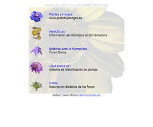 Botánica: plantas, herbario, prácticas y mucho más (Universidad de Extremadura)