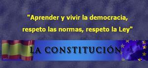 La constitución. CEIP Menéndez y Pelayo