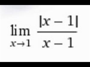 Limites de funciones con valor absoluto