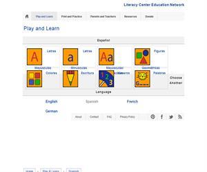 Literacycenter.net. Recursos educativos de Infantil y Primaria en varios idiomas