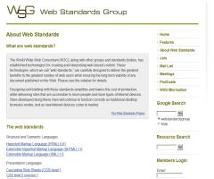 Web Standards Group (WSG)
