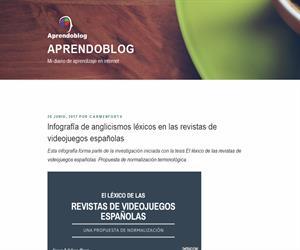 Infografía de anglicismos léxicos en las revistas de videojuegos españolas