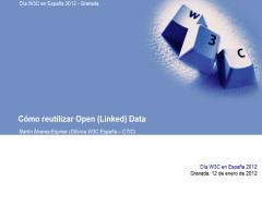 Cómo reutilizar Open (Linked) Data