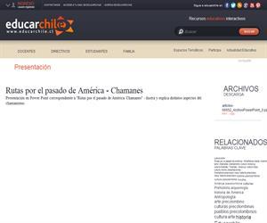 Rutas por el pasado de América: Chamanes - Enseñanza Media (Educarchile)