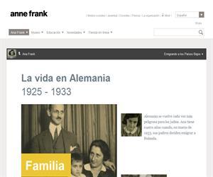 La historia de Ana Frank en versión abreviada (Anne Frank House)