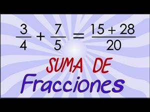 Suma de fracciones 2