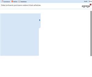 Clasificación de las palabras por la posición de la sílaba tónica  (Proyecto Agrega)