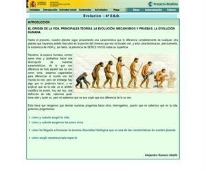 La evolución. El origen de la Tierra (Proyecto Biosfera)