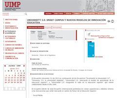 UNIVERSITY 3.0: SMART CAMPUS Y NUEVOS MODELOS DE INNOVACIÓN EDUCATIVA