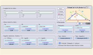 TrianCal: Calculadora de triángulos online
