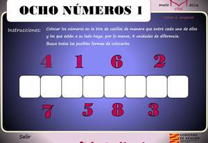 Ocho números (matematicavital.com)