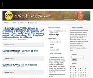 Mi Novela Favorita, literatura universal comentada por Mario Vargas Llosa (radio.rpp.com.pe)