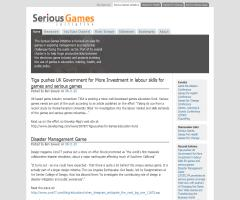 The Serious Games Initiative