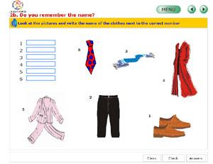 Clothes, unidad didáctica de inglés 5º Primaria (EducaMadrid)
