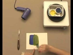Encáustica, una técnica de pintura paso a paso (EducaThyssen)