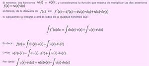Calculando primitivas. La operación inversa de la derivación
