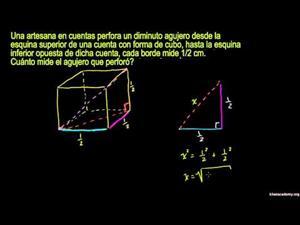 Uso de ecuaciones irracionales 2. El cubo (Khan Academy Español)
