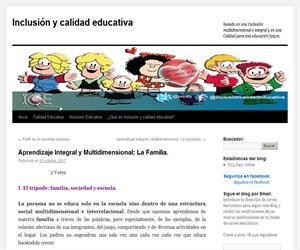 Aprendizaje Integral y Multidimensional: La Familia.