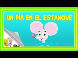 El ratoncillo diminuto: Un día en el estanque (Cuento infantil)