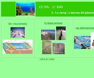 La energía interna del planeta (unidad didáctica)