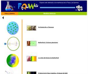 """El mundo de la física a través de """"Modelos Atómicos"""""""