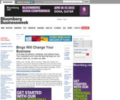 Business Week: Blogs Will Change Your Business. May 2005