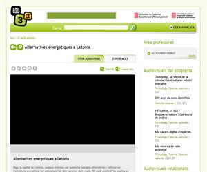 Alternatives energètiques a Letònia (Edu3.cat)