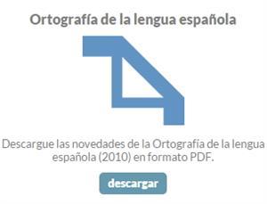 Resumen de las novedades de la Ortografía de la Lengua Española (2010). Fundación del Español Urgente