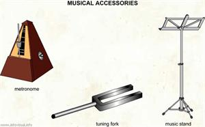 Musical accessories  (Visual Dictionary)