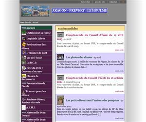 Aragón-Prévert: La Houlme, recursos educativos en francés ( Educación Infantil-Primaria )