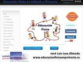 Presentación de la web www.educacionfis icaenprimaria.es para #redesedu12