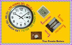 Las horas del reloj