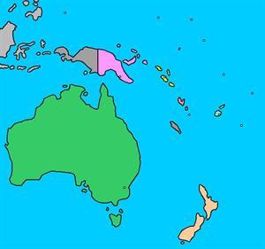 Mapa Politico Oceania Interactivo.Mapa Para Jugar Donde Esta Paises Y Territorios De Oceania Mapas Interactivos De Didactalia