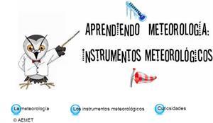 Juego interactivo sobre los instrumentos metereológicos (AEMET)